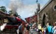 A estação de Hogsmeade, no parque Islands of Adventure, receberá o Expresso Hogwarts, vindo de King's Cross no Universal Studios Florida