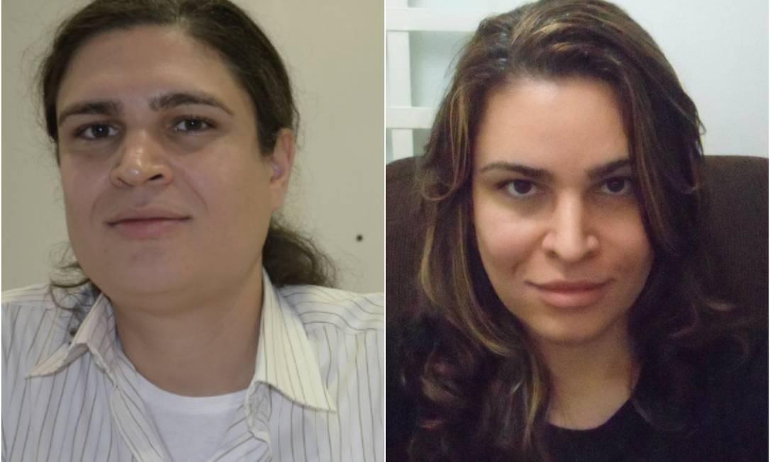 Delegado, antes e depois Foto: Facebook / Reprodução