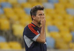 Renato Gaúcho, técnico do Fluminense Foto: Márcio Alves / Agência O Globo