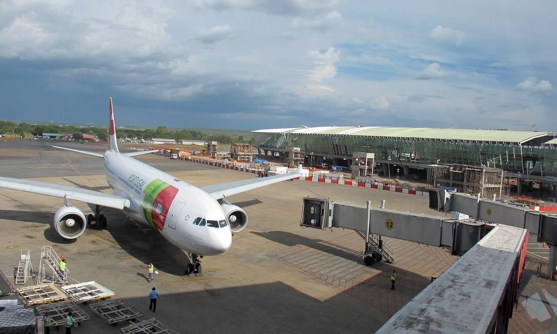 Infraestrutura. Concessões de aeroportos para empresas privadas deram um impulso nos recursos para melhorias Foto: Geralda Doca / Geralda Doca/27-11-2013