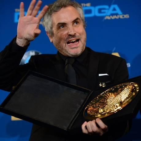 Cuarón é forte candidato a vencer o Oscar de melhor diretor Foto: FREDERIC J. BROWN / AFP