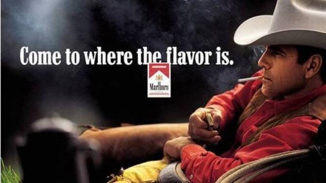 Anúncio da Marlboro protagonizado por Eric Lawson Foto: Reprodução