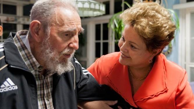 Resultado de imagem para Cuba e Dilma