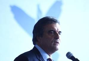 Cardozo participa de cerimônia em Brasília Foto: André Coelho / O Globo