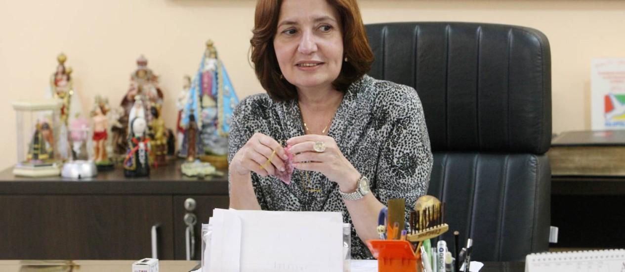 A delegada Martha Rocha, que deixará a chefia de Polícia para se lançar na política - Foto: Agência O Globo / Fabiano Rocha