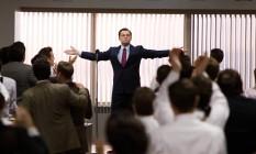 """Leonardo DiCaprio como Jordan Belfort em """"O Lobo de Wall Street"""" Foto: Divulgação"""