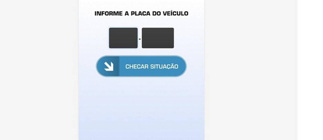 Aplicativo Checkplaca foi desenvolvido pelo Ministério da Justiça Foto: Divulgação