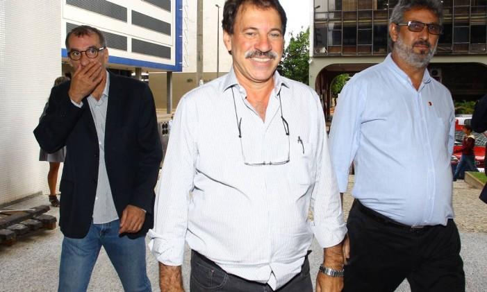 <br /> O ex-tesoureiro do PT Delúbio Soares 20/01/2013<br /> Foto: André Coelho / O Globo