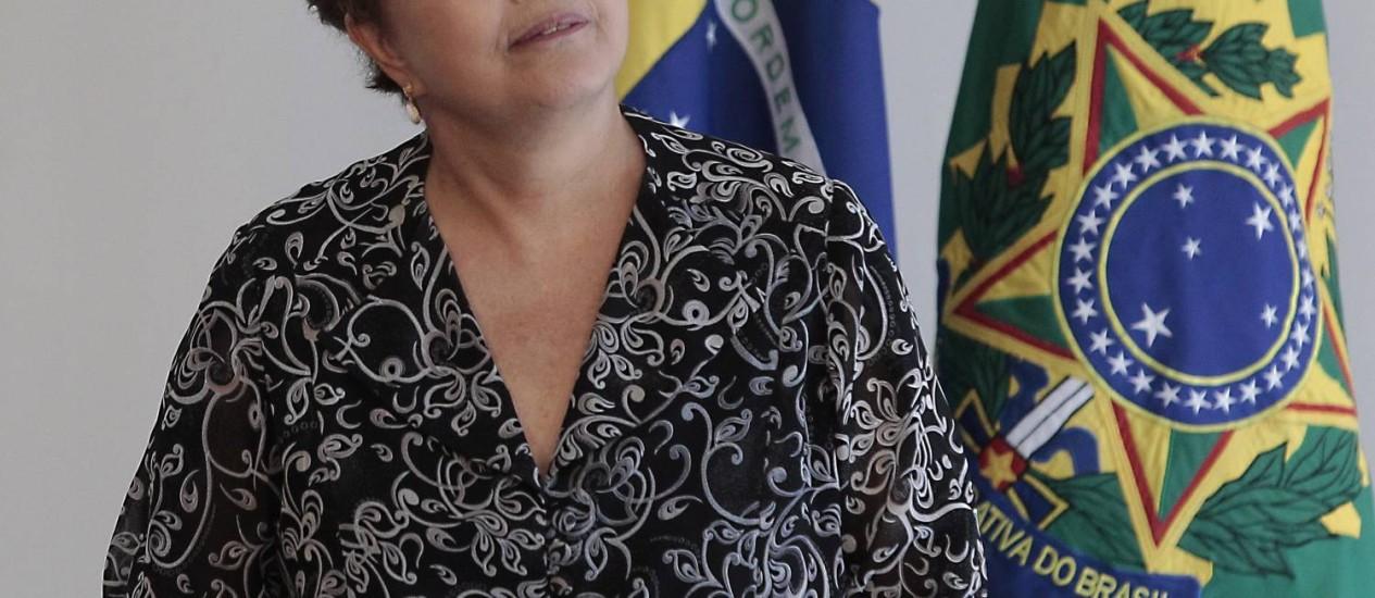 Preocupação aumentou depois que comitiva de Dilma foi atacada no RN Foto: O Globo / Jorge William