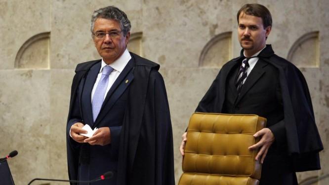 Marco Aurélio Mello votou contra a resolução em dezembro Foto: Gustavo Miranda / Arquivo O Globo
