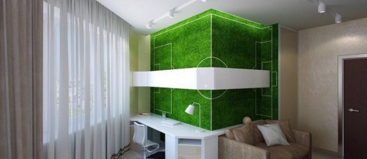 Esporte Tileable Papel De Parede Colorido: Imagina Na Copa: O Futebol Na Decoração De Quartos E Salas