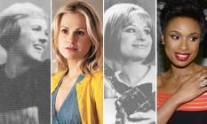 Julie Andrews, Anna Paquin, Barbra Streisand e Jennifer Hudson Foto: Divulgação