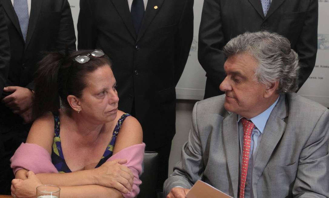 A médica Cubana Ramona Matos teria abandonado o programa Mais Médicos, de acordo com o deputado Ronaldo Caiado Foto: Givaldo Barbosa / Agência O Globo