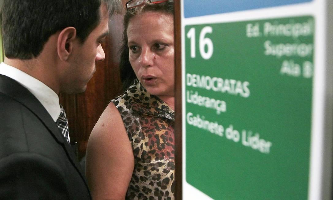 A médica cubana Ramona Matos Rodriguez na Câmara Foto: Jorge William / Agência O Globo