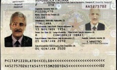 Interpol divulga passaporte usado por Henrique Pizzolato no nome do irmão Foto: / Reprodução Interpol
