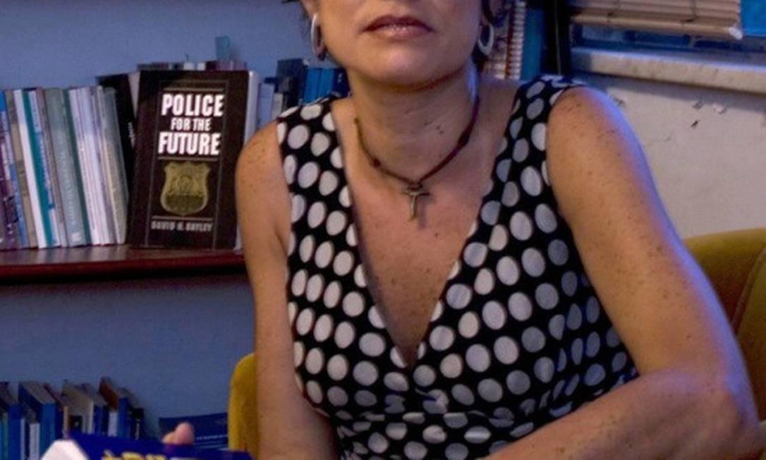 Jaqueline Muniz, pesquisadora do Iuperj Foto: Divulgação