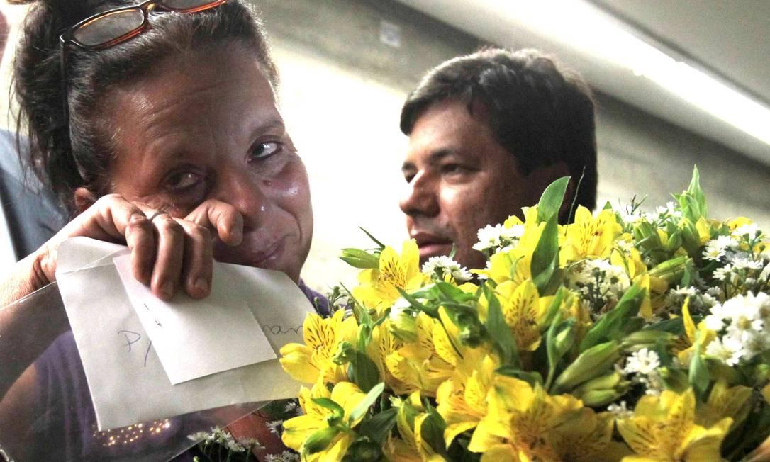 Médica cubana Ramona Matos Rodriguez deixa o gabinete da liderança do DEM após pedido de refúgio na Brasil Foto: Givaldo Barbosa / Agência O Globo