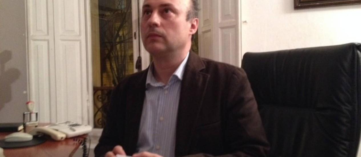 O advogado de Pizzolato, Lorenzo Bergami Foto: Deborah Berlinck