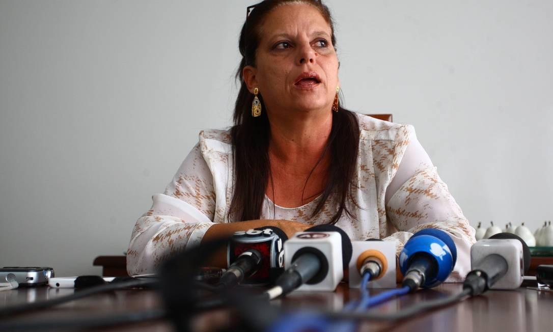 Ramona Matos Rodriguez está hospedada na casa do deputado Abelardo Lupion - Foto: André Coelho / Agência O Globo