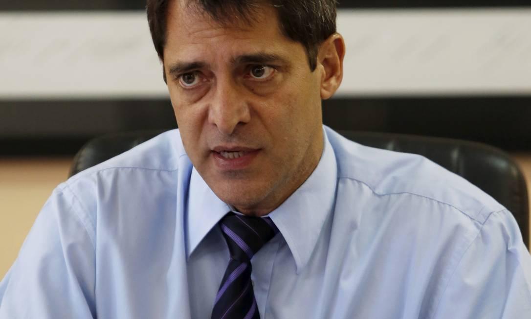 Novo chefe da Polícia Civíl, Fernando Veloso. Foto: O Globo / Hudson Pontes