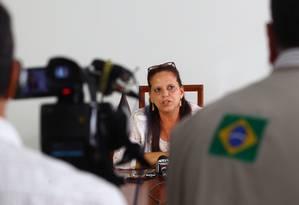 A médica cubana Ramona Matos Rodriguez, que pediu refúgio no Brasil Foto: André Coelho/6-2-2014 / Agência O Globo