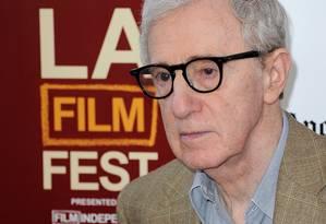 O cineasta Woody Allen Foto: JOE KLAMAR / AFP