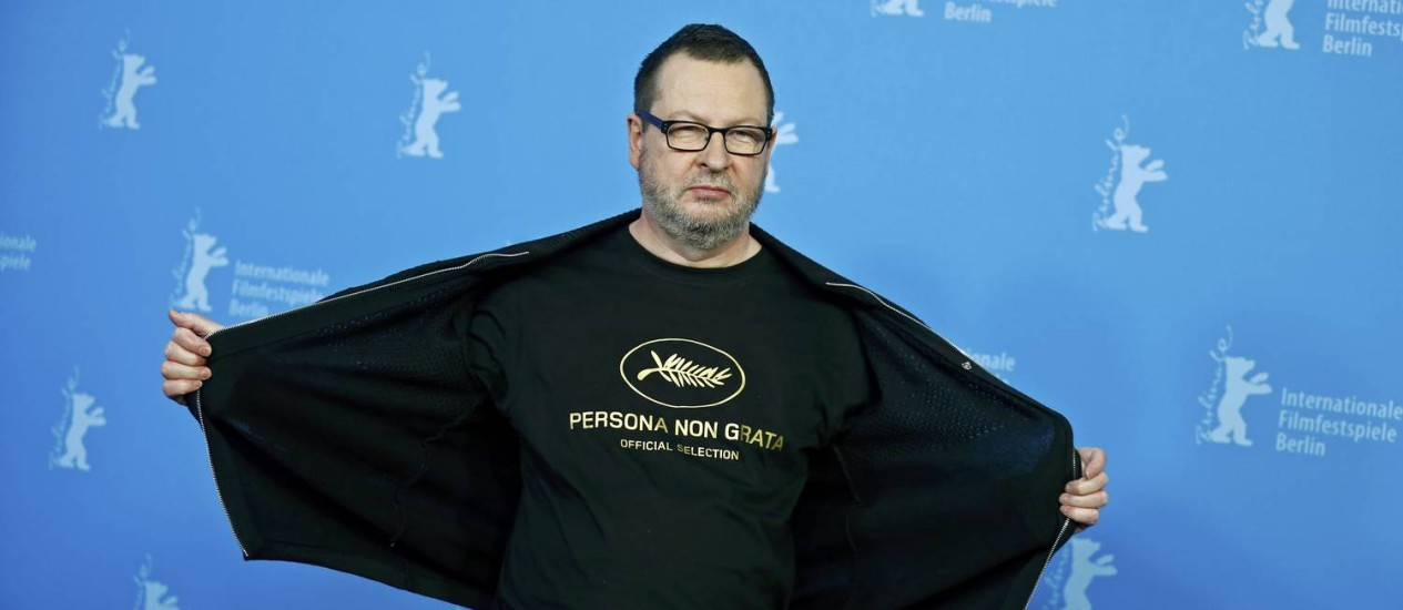O diretor Lars Von Trier Foto: TOBIAS SCHWARZ / REUTERS