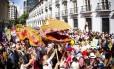 Cortejo do Cordão do Boitatá no pré-carnaval de 2013 foi um dos destaques da festa nas ruas no ano passado