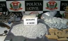 Droga foi apreendida com jovem de 17 anos Foto: Reprodução/TV Globo