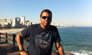 O cinegrafista da Band Santiago Andrade, de 49 anos, morreu após ser atingido por rojão em protesto no Centro Foto: Rede Bandeirantes / Divulgação