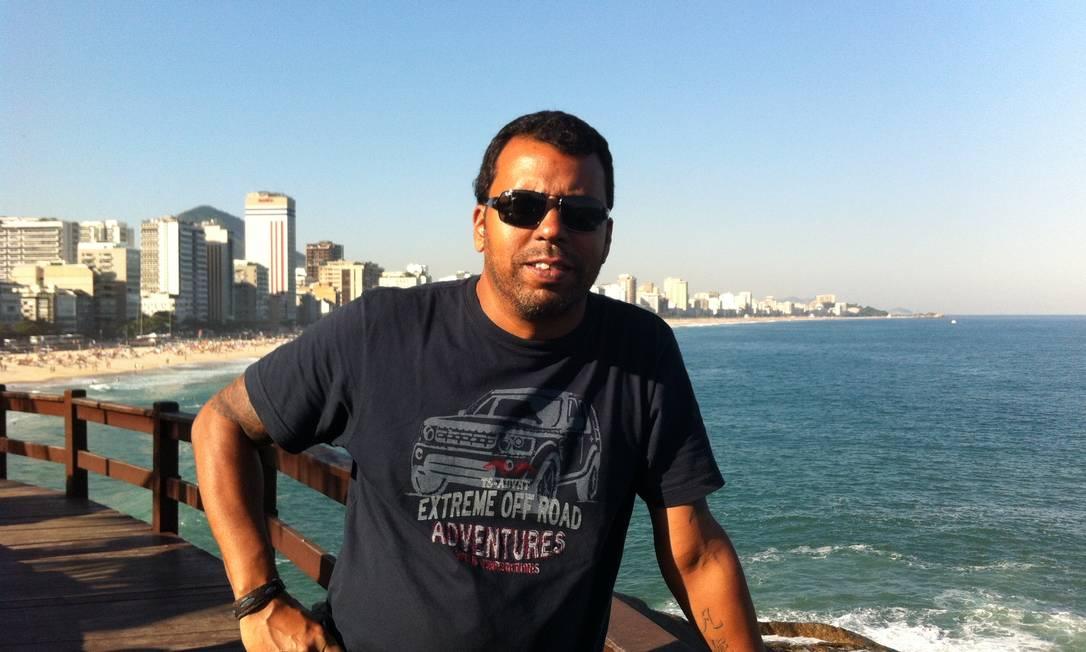 O cinegrafista da Band Santiago Andrade, de 49 anos, teve morte cerebral após ser atingido por rojão em protesto no Centro Foto: Rede Bandeirantes / Divulgação