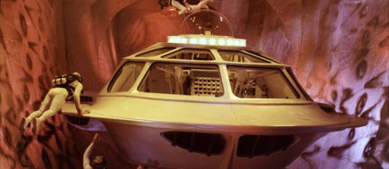Cena do filme de ficção científica 'Viagem fantástica', de 1966: no futuro, nanomáquinas poderão ser introduzidas no corpo para atacar tumores, reparar tecidos danificados, administrar medicamentos ou realizar diagnósticos, entre outras funções Foto: Divulgação