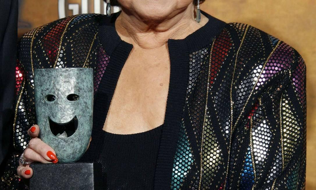 Em 2006, a atriz foi homenageada com o prêmio 'Screen actors guild's life achievement award' pelo conjunto de sua obra Foto: MARIO ANZUONI / Reuters