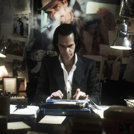 O ator Nick Cave Foto: Chloë Thomson/ Divulgação