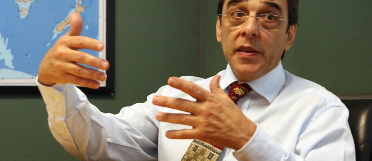 Mauro Borges Lemos Foto: Givaldo Barbosa / O Globo/18-8-2011