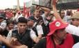 Confronto entre sem-terra e policiais militares na Esplanada dos Ministérios deixou mais de 40 feridos