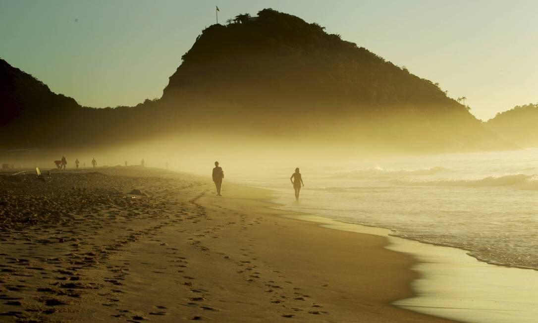 Temperaturas de bairros da Zona Sul são mais de 10 graus Celsius menor do que as registradas em bairros distantes da praia Foto: Marcelo Piu