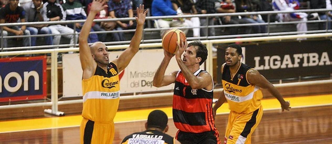 Marcelinho em foto de arquivo Foto: Samuel Vélez / FIBA Américas
