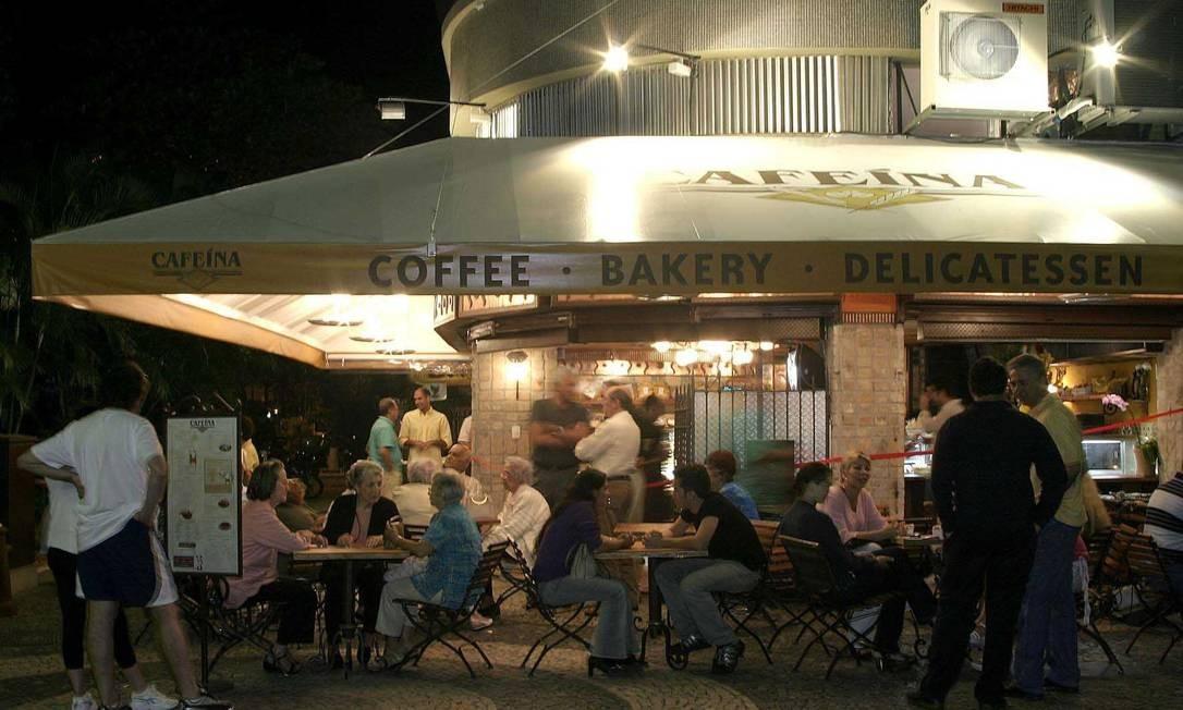 Direção do Cafeína vai fechar filial no Leblon, que teve aluguel reajustado de R$ 22 mil para R$ 30 mil Foto: FOTO: Divulgação
