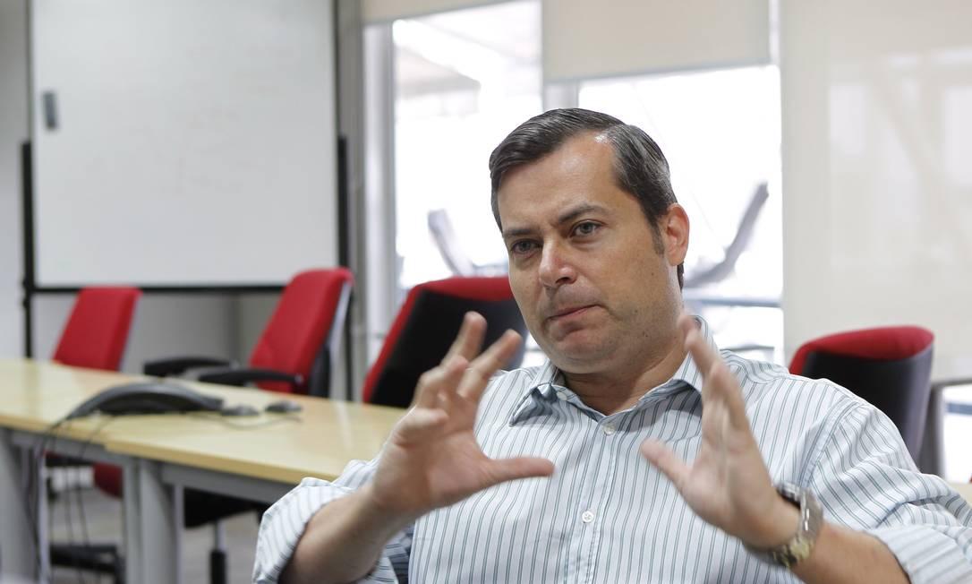 Borer, CEO do Buscapé, na sede da empresa na Avenida Paulista, São Paulo Foto: FOTO: Michel Filho