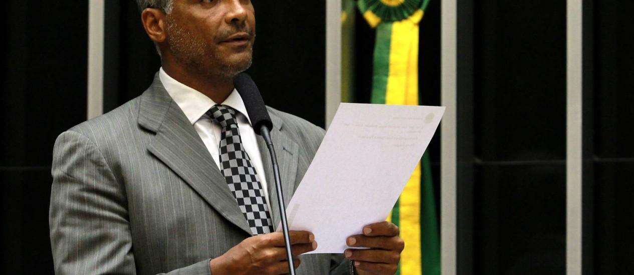 O deputado federal Romário Foto: Ailton de Freitas/14-3-2013 / Agência O Globo