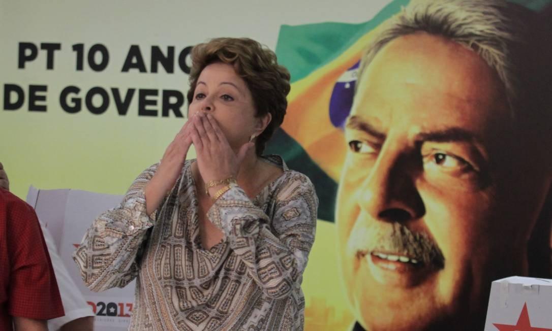 A presidente Dilma Rousseff Foto: Ailton de Freitas/10-11-2013 / Agência O Globo