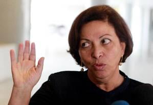 A ministra Ideli Salvatti, das Relações Institucionais Foto: Ailton de Freitas / Agência O Globo
