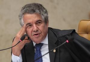 Ministro Marco Aurélio Mello Foto: André Coelho / O Globo / 12-09-2013