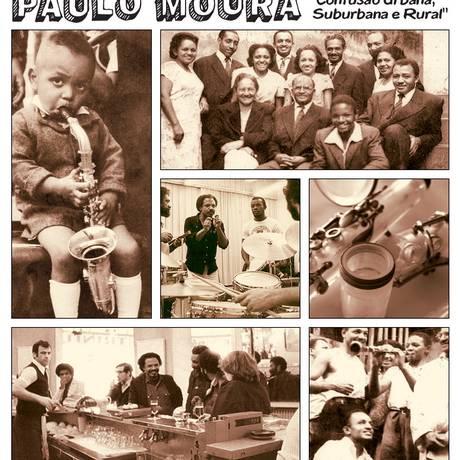 Página da fotonovela de Paulo Moura, disponível no site do Instituto; no áudio, ouça 'Rosa da Mangueira', gravação inédita do compositor Foto: Divulgação