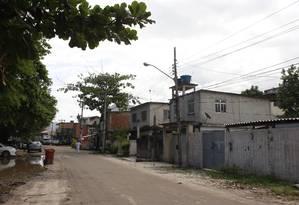 A Vila do Autódromo, favela que será removida para obras do Parque Olímpico Foto: Domingos Peixoto / Agência O Globo