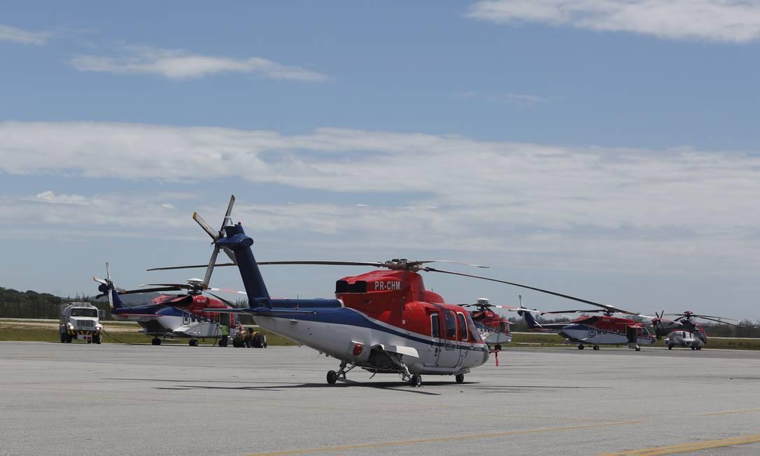 Aeroporto de Cabo Frio terá pistas destinadas a helicópteros Foto: Agência O Globo / Hudson Pontes