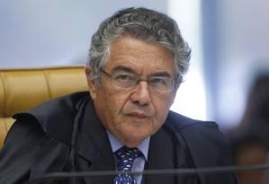 O ministro Marco Aurélio de Mello Foto: Divulgação