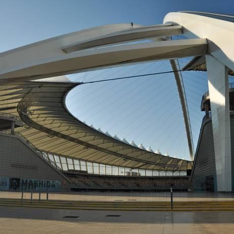 O estádio em Durban Foto: Flávia Milhorance / O Globo