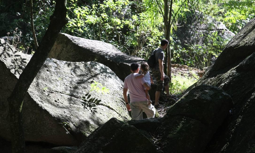 Grajaú, junto à Floresta da Tijuca, conta com reserva Foto: Eduardo Naddar / Agência O Globo